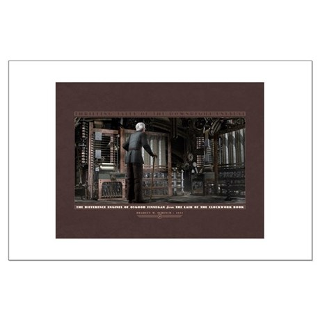 "Finnegan's Difference Engines Poster (24x18"")"