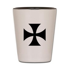 German Iron Cross Shot Glass