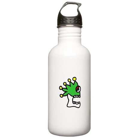 Malinalco - Jester Skull Stainless Water Bottle 1.