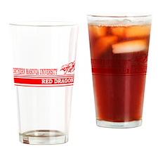 Masovia Red Dragons Drinking Glass