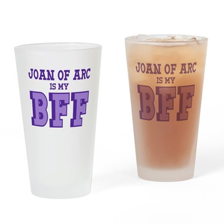 Joan of Arc BFF Drinking Glass