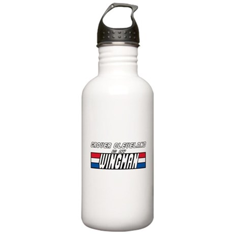 Grover Cleveland Wingman Stainless Water Bottle 1.