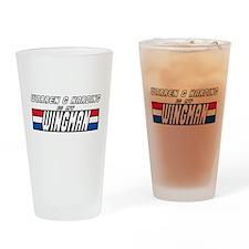 Warren Harding Wingman Drinking Glass