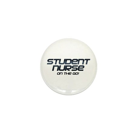 Student Nurse On The Go Mini Button (10 pack)