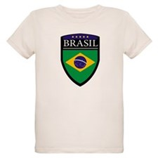Brasil Flag Patch T-Shirt