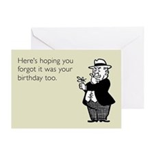Forgotten Birthday Greeting Card