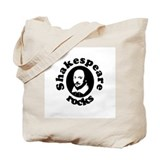 Shakespeare Rocks Tote Bag