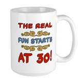 Real Fun 30th Birthday Mug