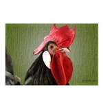 Rooster 1 Postcards (Package of 8)