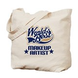 Makeup Artist Gift (Worlds Best) Tote Bag