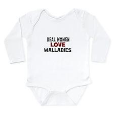 Real Women Love Wallabies Onesie Romper Suit