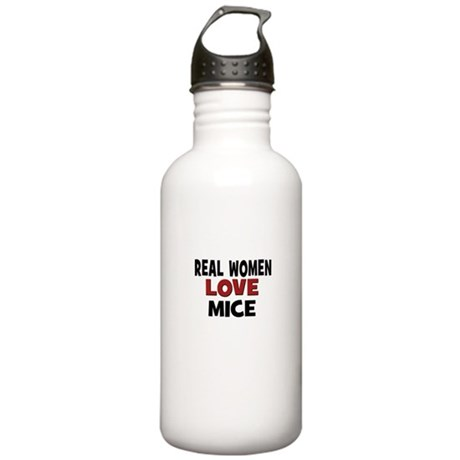Real Women Love Mice Stainless Water Bottle 1.0L
