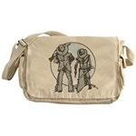 Cowboy moon Messenger Bag
