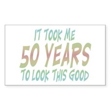 Unique 50 years old Decal