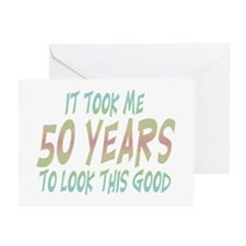 Cool Over the hill 50 Greeting Cards (Pk of 10)