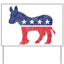 Democrat Donkey Yard Sign