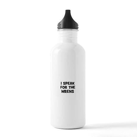 I Speak For The Wrens Stainless Water Bottle 1.0L