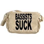 Bassists Suck Messenger Bag