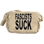 Fascists Suck Messenger Bag