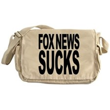 Fox News Sucks Messenger Bag