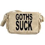 Goths Suck Messenger Bag
