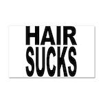 Hair Sucks Car Magnet 20 x 12