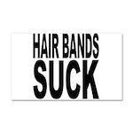 Hair Bands Suck Car Magnet 20 x 12