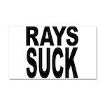 Rays Suck Car Magnet 20 x 12