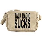 Talk Radio Sucks Messenger Bag