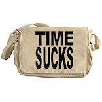 Time Sucks Messenger Bag