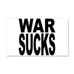 War Sucks Car Magnet 20 x 12