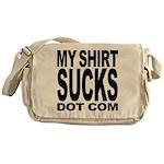 MyShirtSucks.com Logo Messenger Bag