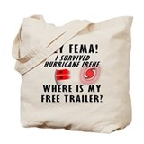 Hurricane Irene FEMA Tote Bag