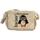Penguin Cancer Awareness Messenger Bag