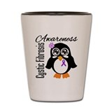 Penguin Cystic Fibrosis Shot Glass