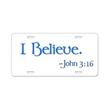 Cute Christian Aluminum License Plate