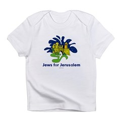 Jews For Jerusalem Infant T-Shirt