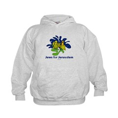 Jews For Jerusalem Kids Hoodie