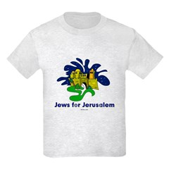 Jews For Jerusalem Kids Light T-Shirt