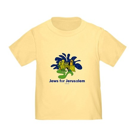 Jews For Jerusalem Toddler T-Shirt