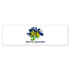 Jews For Jerusalem Sticker (Bumper)