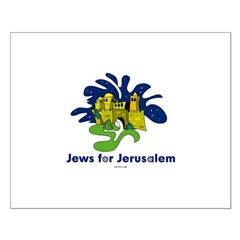 Jews For Jerusalem Small Poster