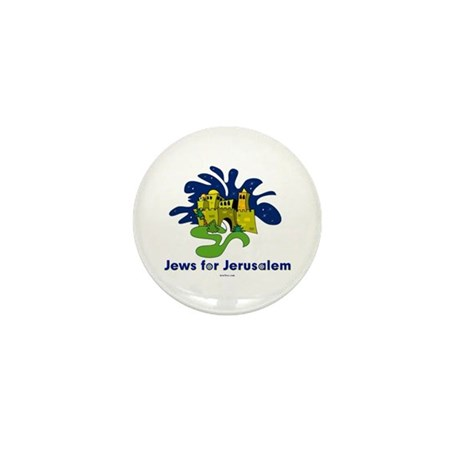 Jews For Jerusalem Mini Button