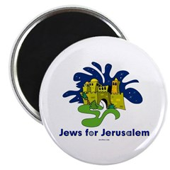 Jews For Jerusalem Magnet