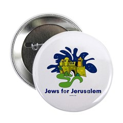 "Jews For Jerusalem 2.25"" Button"
