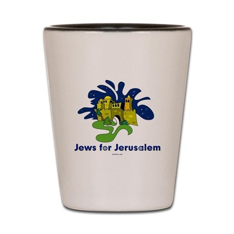 Jews For Jerusalem Shot Glass
