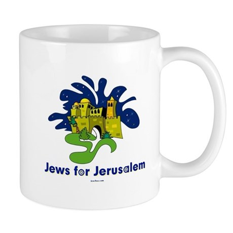 Jews For Jerusalem Mug