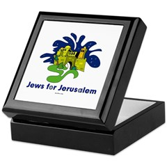 Jews For Jerusalem Keepsake Box