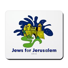 Jews For Jerusalem Mousepad