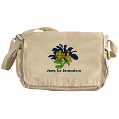 Jews For Jerusalem Messenger Bag